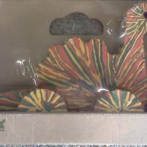 דינוזאור על גלגלים עבודת יד 1