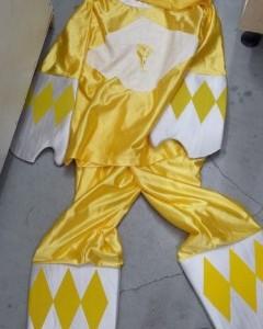 פאוור ריינגרס צהוב תחפושת