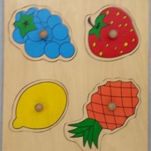פאזל פירות 4