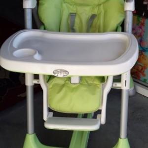 כסא אוכל פרימה פפה ירוק ענבל
