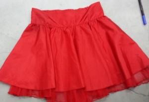 חצאית לכיפה אדומה