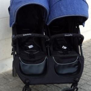 עגלת תאומים איזי גוקר גינס 1
