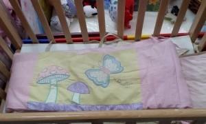 מגן ראש למיטת תינוק פטריות