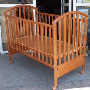מיטת תינוק דגם נרקיס 2