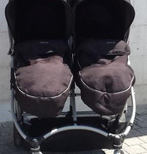 עגלת תאומים סטרול אייר 1