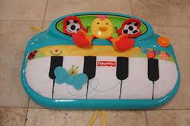 פסנתר פישר פרייס ציפור Fisher price peek a boo cot piano