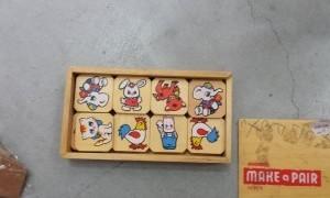 8155 משחק זיכרון חיות עץ
