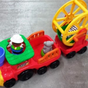 m-h-Fisher-Price Little People Zoo Talkers Animal Sounds Zoo Train-2