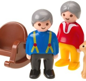 Playmobil grandma and grandpa