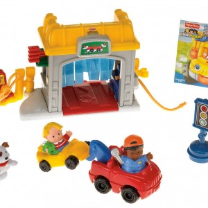 little people mini garage